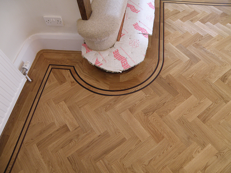 Decorative Features Parquet And Hardwood Flooring