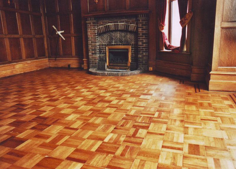 Restoration And Refinishing Parquet And Hardwood